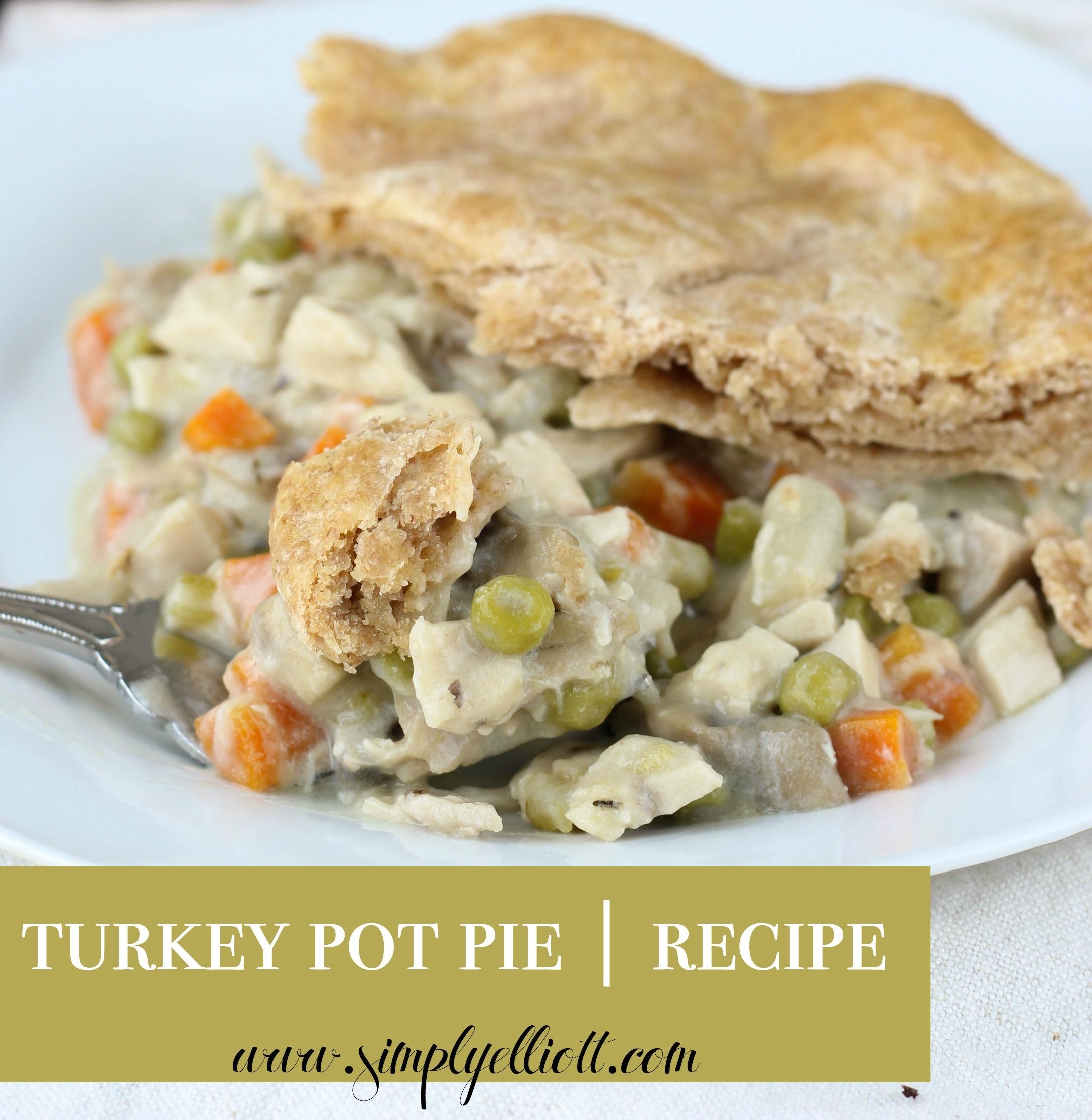 Turkey Potpies Recipe: Recipe - Simply Elliott